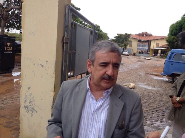 Transferência presos Alcaçuz Henrique Baltazar (Foto: Felipe Gibson/G1)