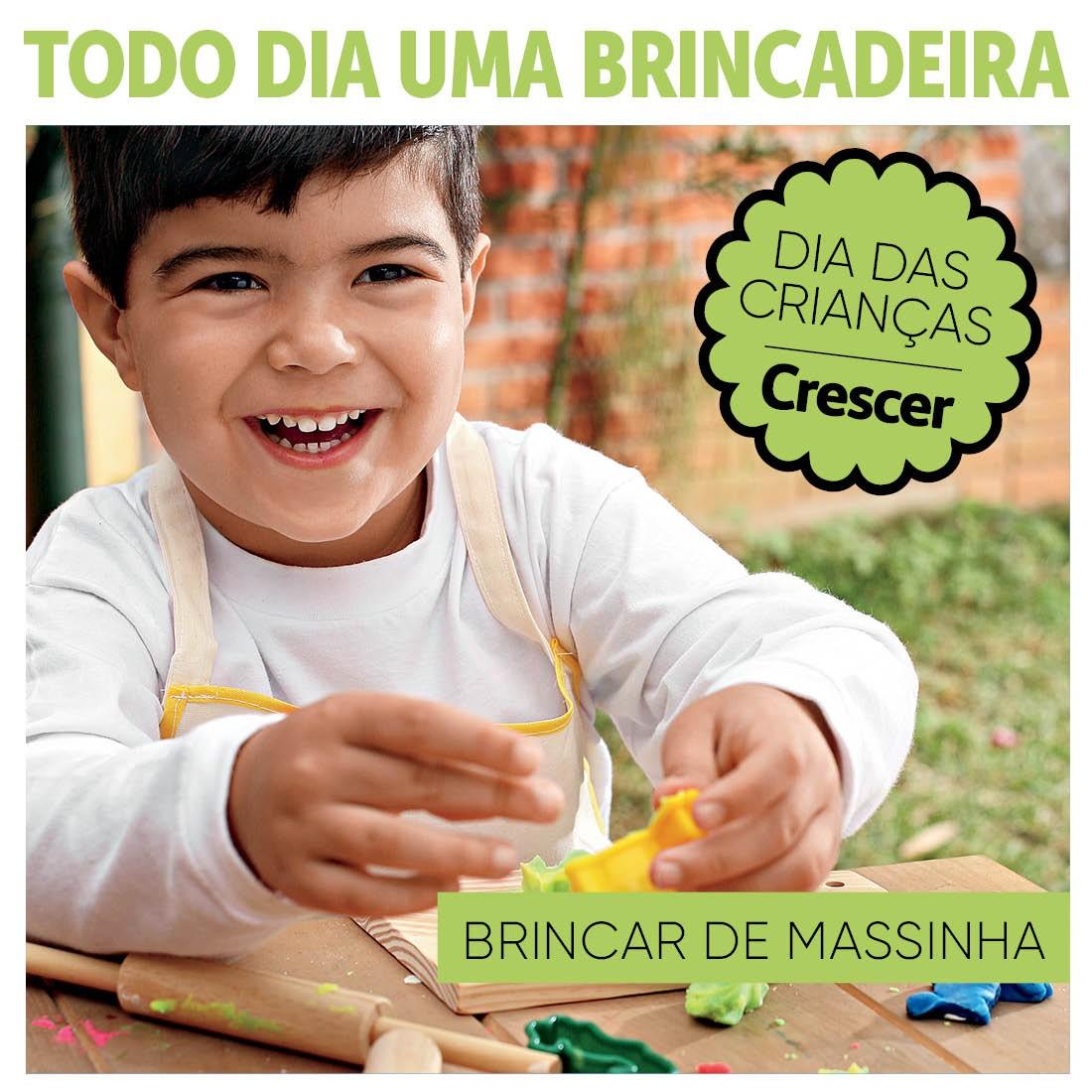 BRINCAR-MASSINHA-TODO-DIA-UMA-BRINCADEIRA (Foto:  EDITORA GLOBO)