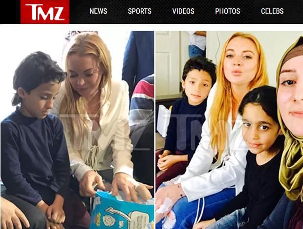 Lindsay Lohan (Foto: Reprodução/TMZ)