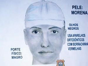 Retrato de um dos homens tem duas versões, uma com boné (Foto: Superintendência de Polícia Técnico-científica)