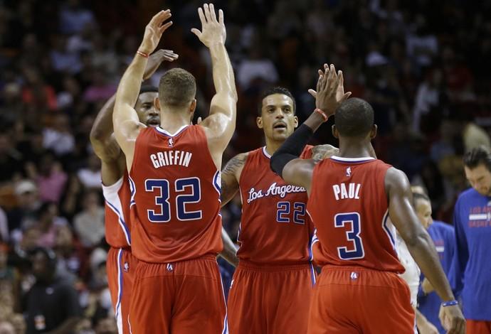 Blake Griffin Chris Paul Los Angeles Clippers (Foto: AP)