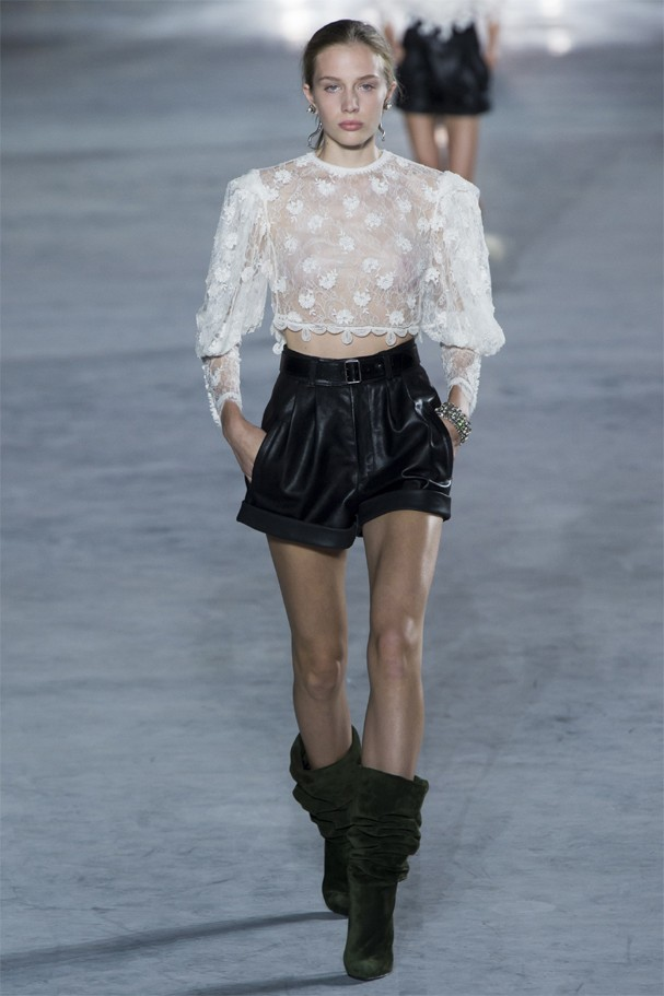 Saint Laurent verão 2018 (Foto: Imaxtree)