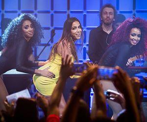 Anitta surpreende em encontro com Lenine e Skank no Música Boa Ao Vivo