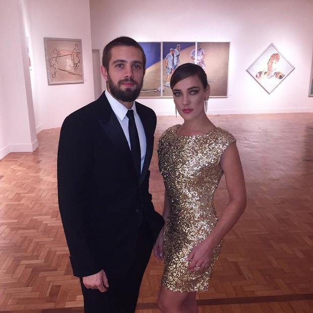 Rafael Cardoso e Adriana Birolli  (Foto: Instagram / Reprodução)