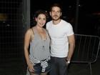 Fabíula Nascimento e Marco Pigossi vão juntos ao Rock in Rio