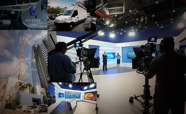 Os bastidores da maior emissora de TV do norte e nordeste (Foto: Divulgação)