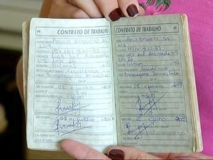 Trabalhadores domésticos têm que trabalhar com carteira assinada  (Foto: Reprodução/TV Anhanguera)