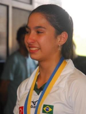 Tawany conquistou a segunda medalha no Circuito Europeu (Foto: Alexandra Giuletti / Prefeitura de Praia Grande)