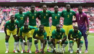 Seleção de Camarões na Olimpíada de Londres (Foto: Julian Finney/Getty Images)