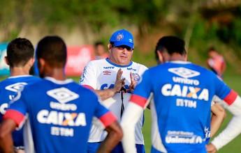 Com folga para reservas, titulares do Bahia participam de treino coletivo
