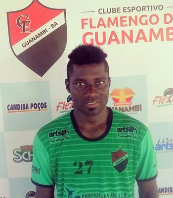 Koffi; Flamengo de Guanambi (Foto: Divulgação/Flamengo de Guanambi)