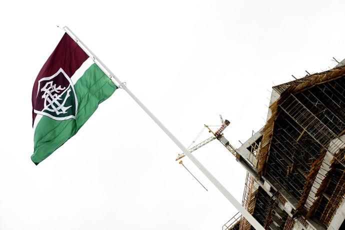 bandeira, ct, fluminense (Foto: Nelson Perez/Fluminense FC)