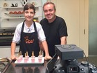 Gugu incentiva filho a virar youtuber e menino se declara ao pai: 'Inspiração'