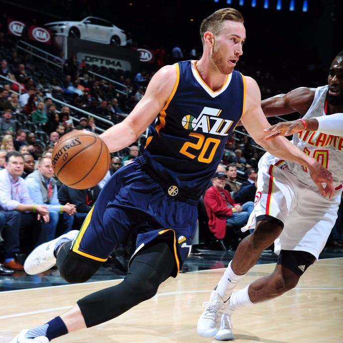 Atlanta Hawks vs. Utah Jazz NBA (Foto: Divulgação/NBA)