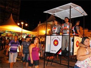 PM vai fazer segurança nas festas (Foto: Divulgação/Secom-PB)