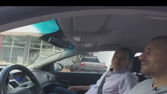 """Ex-motorista da Uber, goleiro da URT revê Galo e quer """"no mínimo empate"""""""