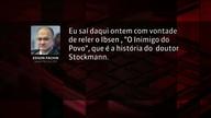 Voto vencido em decisões do STF, Fachin cita 'Um Inimigo do Povo'
