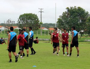 Treino do River-PI (Foto: Josiel Martins)