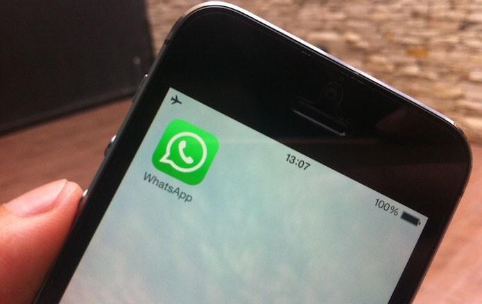 Como baixar vídeos no WhatsApp para iPhone (Foto: Marvin Costa/TechTudo)