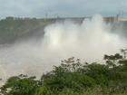 Com vertedouro aberto, Itaipu alerta para enchentes no oeste do Paraná