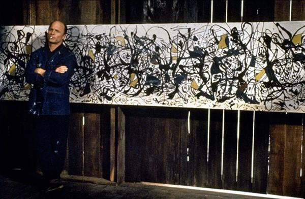Ed Harris como Jackson Pollock (Foto: Divulgação)