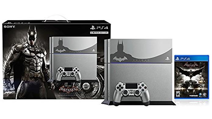 Sucinto como o homem-morcego, o PlayStation 4 de Batman: Arkham Knight se destaca pela sutileza (Foto: Reprodução/Amazon)