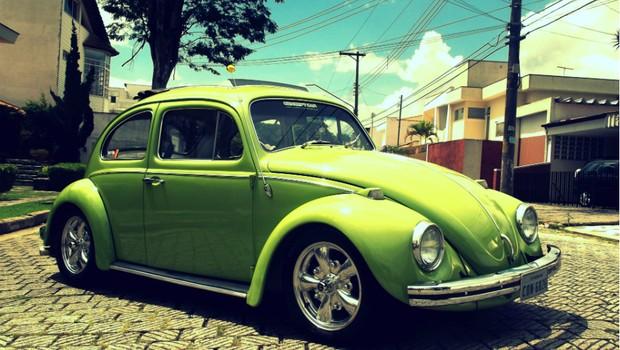 Volkswagen Fusca Cal-Look (Foto: Aline Magalhães)