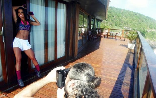 Fernanda D'Ávila posa para editorial de moda (Foto: Divulgação)