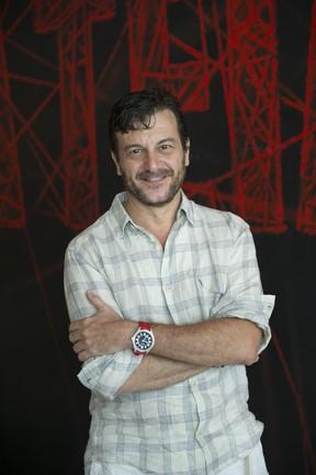 Roberto Birindelli em 'A teia', há dois anos (Foto: Créditos: Globo/Estevam Avellar)