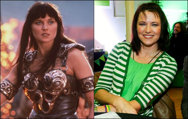 Esqueça 'Xena: A Princesa Guerreira' (1995–2001), vivida por Lucy Lawless quando esta tinha entre 26 e 33 anos de idade. Hoje, aos 46, a atriz luta é pelo Partido Verde de seu país natal, a Nova Zelândia. (Foto: Getty Images)