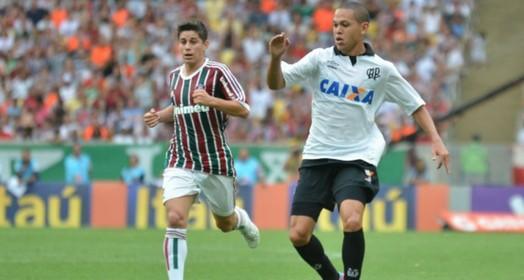 faltou o gol (Gustavo Oliveira/ Site oficial Atlético-PR)