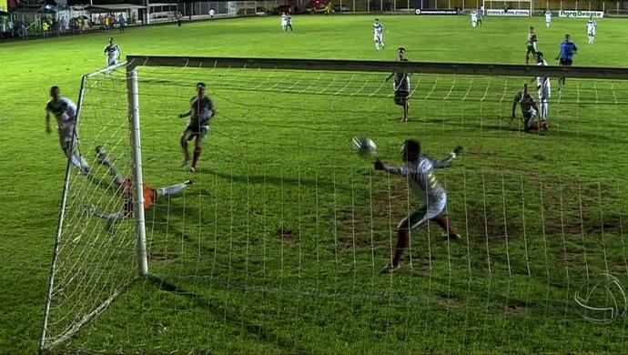 Luverdense vence CEOV pelo Mato-grossense (Foto: Reprodução/TVCA)