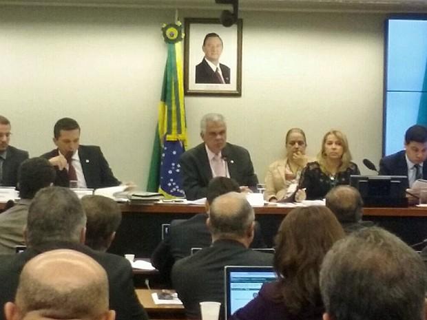 Conselho de Ética da Câmara se reuniu na manhã desta quinta-feira (19) (Foto: Fernanda Calgaro/G1)