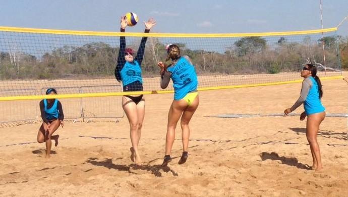 Jogos de verão;Roraima;Praia Grande (Foto: Nailson Wapichana)