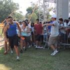 Fãs correm após abertura dos portões (Caetanno Freitas/G1)