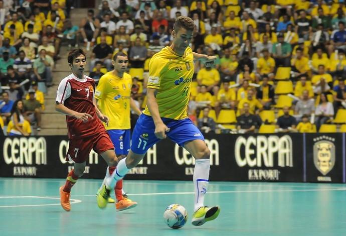 Pito Brasil Vietnã Grand Prix Futsal (Foto: Luciano Bergamaschi/CBFS)