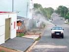 Ubá adota carro fumacê no combate ao mosquito Aedes aegypti
