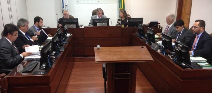 TJD-RJ realiza sessão para julgar Vanderlei Luxemburgo (Foto: Vicente Seda)