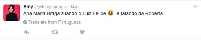 Internet vai a loucura com Luiz Felipe no Mais Você (Foto: Reprodução internet)