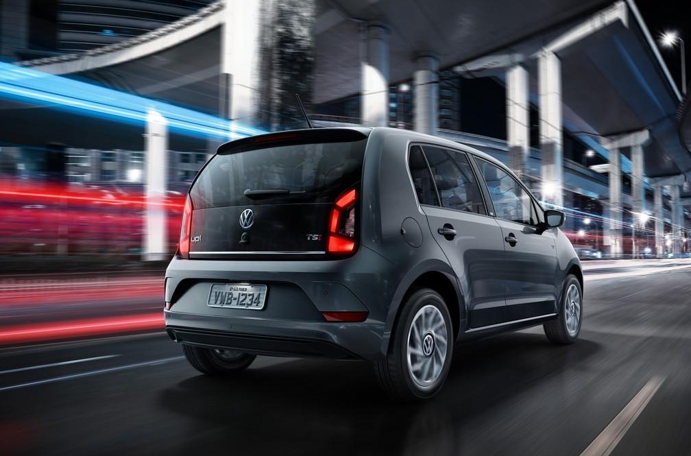 Volkswagen High Up é a versão topo de linha do subcompacto (Foto: Divulgação)