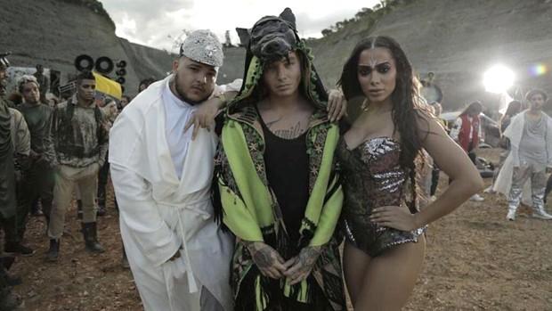 Jano, J Balvin e Anitta (Foto: Divulgao)