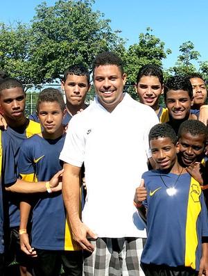 Ronaldo no Aterro do Flamengo (Foto: Cíntia Barlem)