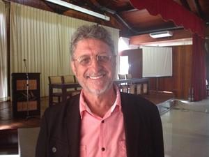 Nazareno Stanislau, presidente do Movimento Nacional dos Transportes (MDT) (Foto: Dyepeson Martins/G1)