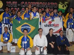 Delegação da Shotokan (Foto: Assessoria/Shotokan)