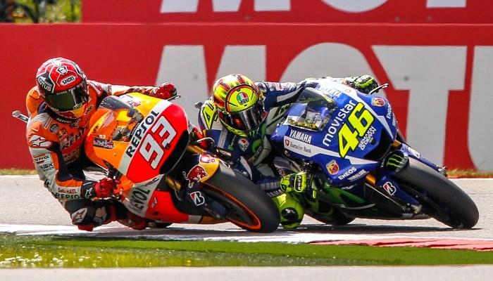 Valentino Rossi Marc Marquez Holanda MotoGP