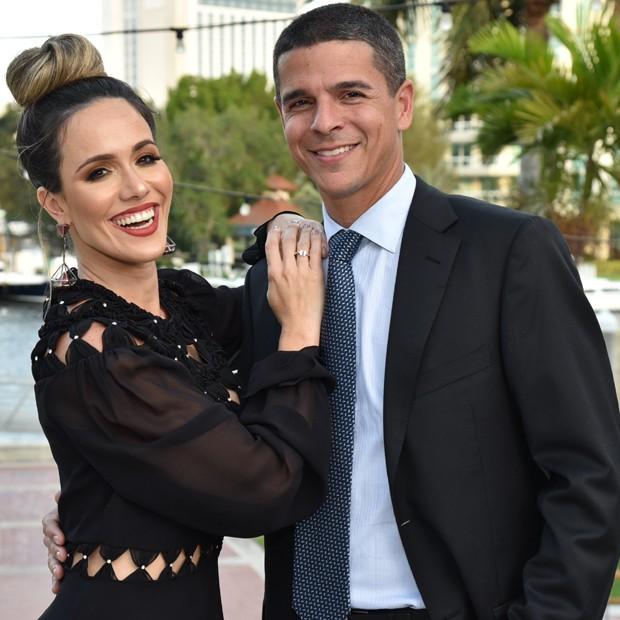 Fernanda Pontes e Diogo Boni (Foto: Divulgação)