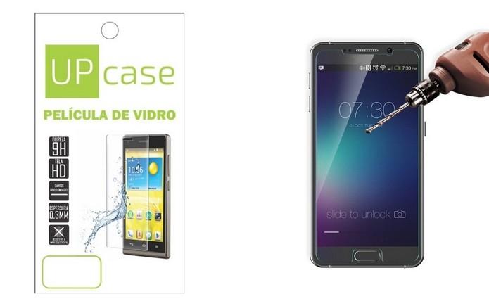 Película de vidro temperado para Moto G5 Plus (Foto: Divulgação/Up Case)