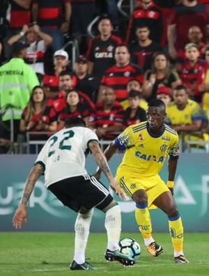 Vinicius Jr. em Flamengo x Coritiba (Foto: Gilvan de Souza / Flamengo)