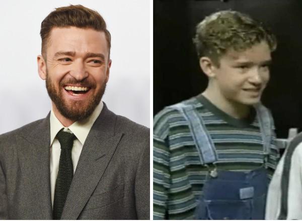 Justin Timberlake hoje e nos tempos de The Mickey Mouse Club (Foto: Getty Images/Reprodução)