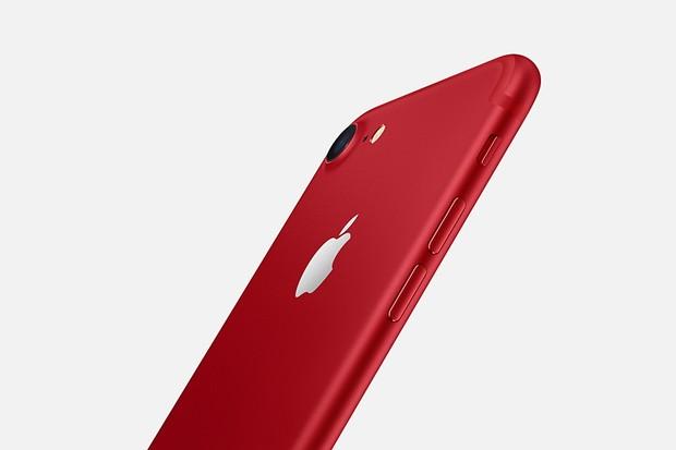 iPhone 7 vermelho (Foto: Divulgação)